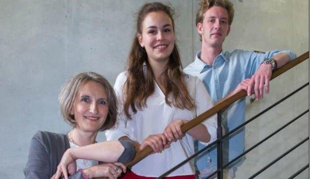 Astrid Mielke-Sulz mit Luise Dorner&Ludwig Weißenberger. (Bild: Neumayr / MMV)