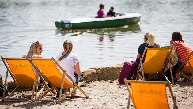 Der Sommer klopft an: Ab Mittwoch bis zu 28 Grad (Bild: APA/dpa/Christoph Schmidt)