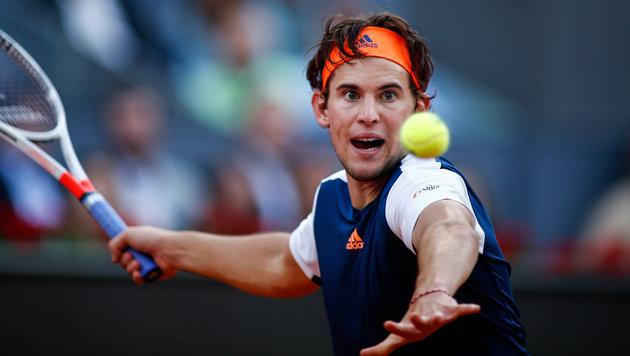 Dominic Thiem schlägt beim Davis Cup in Wels auf (Bild: AFP or licensors)