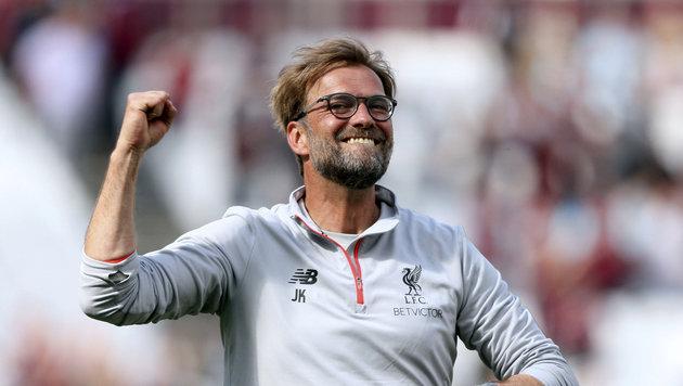 Klopps Liverpool nach 4:0 wieder voll auf Kurs (Bild: PA Wire)