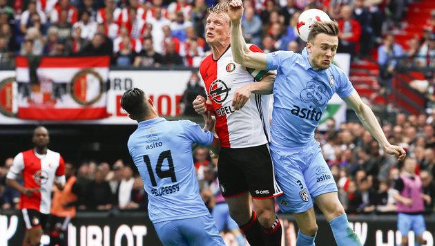 Nach 18 Jahren: Feyenoord Rotterdam wieder Meister (Bild: AFP)