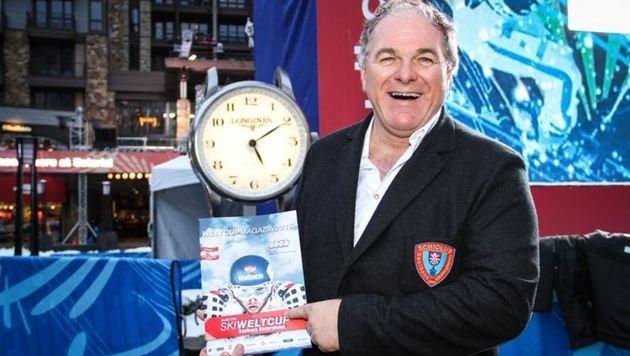 Will nicht nur den Weltcup in Saalbach, sondern auch die WM 2023: SLSV-Präsident Bartl Gensbichler. (Bild: Melanie Hutter)