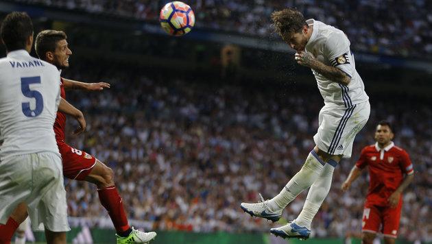 Real Madrid macht Riesenschritt zum Meistertitel! (Bild: Associated Press)