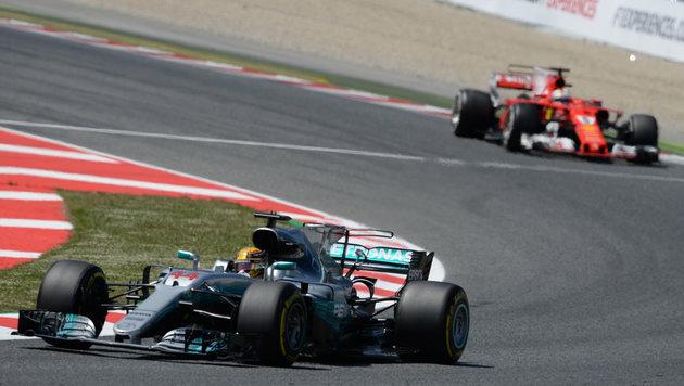 Hamilton siegt im Superduell mit Vettel! (Bild: AFP or licensors)