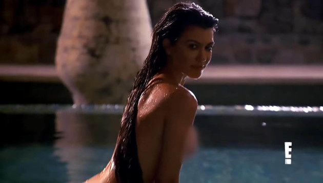 Kourtney Kardashians superscharfes Nacktshooting (Bild: Viennareport)