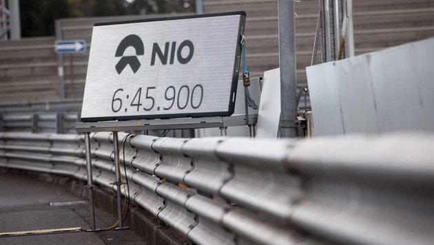 6:45,90: E-Auto schlägt alle auf der Nordschleife (Bild: Nio)