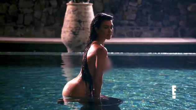 Kourtney Kardashians superscharfes Nacktshooting (Bild: Viennareport)