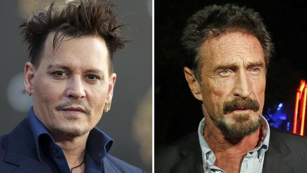 Johnny Depp spielt Antiviren-Pionier John McAfee (Bild: AP)