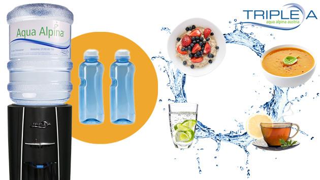 So trinken Sie mehr Wasser! (Bild: Triple A)