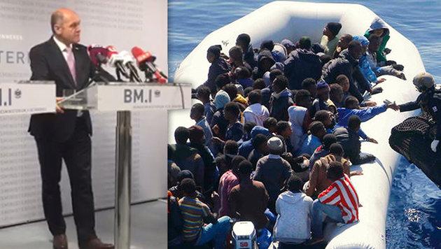 Sobotka für EU-Einsatz an Libyens Außengrenze (Bild: facebook.com, AP)