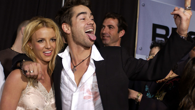 Mit Farrell versuchte sich Britney Spears über das Liebe-Aus mit Justin Timberlake hinwegzutrösten. (Bild: AFP)