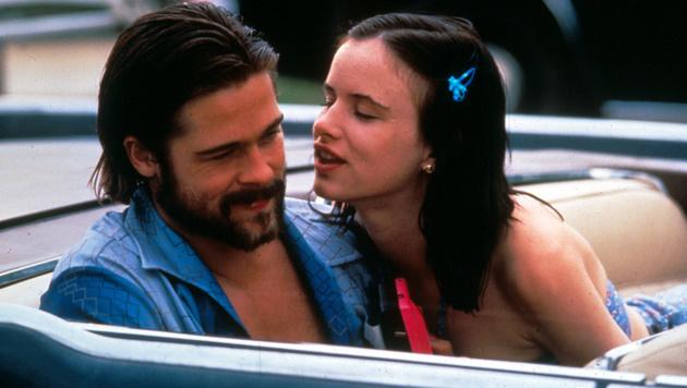 """Brad Pitt und Juliette Lewis trennten sich kurz nach den Dreharbeiten zu """"Kalifornia"""". (Bild: Moviestore Collection/face to face)"""