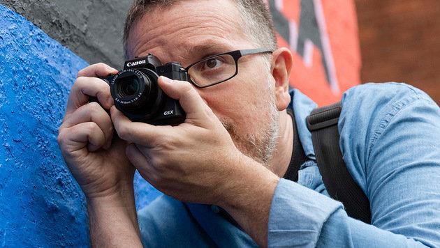 Canons PowerShot G5 X verspricht den Bedienkomfort einer Spiegelreflexkamera im kompakten Gehäuse. (Bild: Canon)