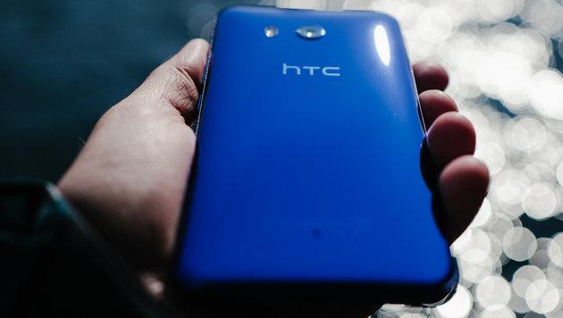 HTC U11: Das erste Quetsch-Smartphone kommt (Bild: HTC)