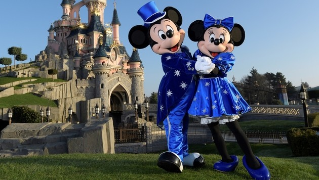 Hacker erpressen US-Medienkonzern Disney (Bild: AFP)