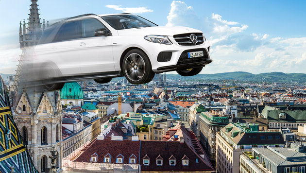 Mercedes denkt über Bau von fliegenden Autos nach! (Bild: thinkstockphotos.de, Mercedes)