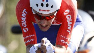 Niederländer Tom Dumoulin neuer Giro-Spitzenreiter (Bild: AFP)
