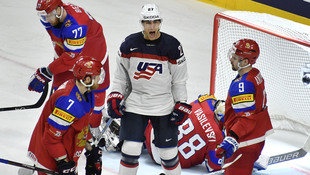 USA nach 5:3 gegen Russland Gruppensieger bei WM (Bild: Associated Press)