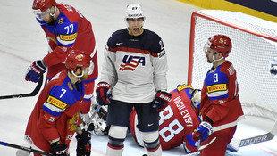 USA nach 5:3 gegen Russland Gruppensieger bei WM (Bild: Associated Press)