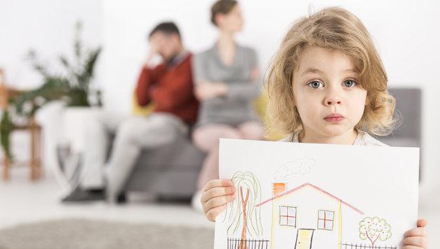 Scheidung: Kinder richtig unterstützen! (Bild: thinkstockphotos.de)