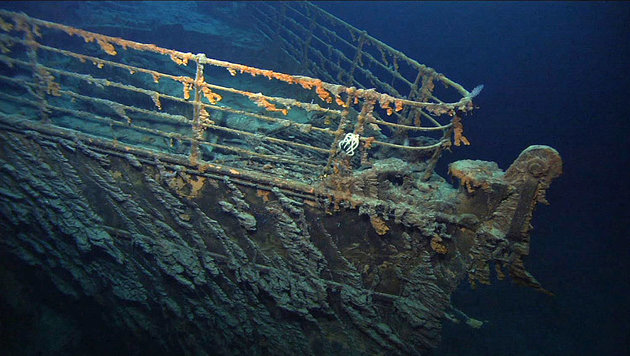 """Bakterien zerfressen das Wrack der """"Titanic"""" (Bild: NOAA/R.M.S. Titanic Expedition Team)"""
