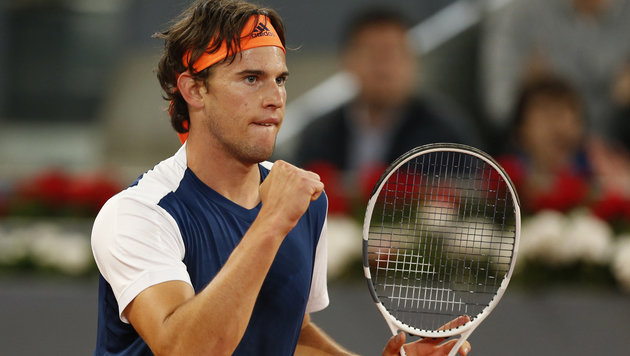 Sensation! Dominic Thiem führt Nadal in Rom vor (Bild: Associated Press)
