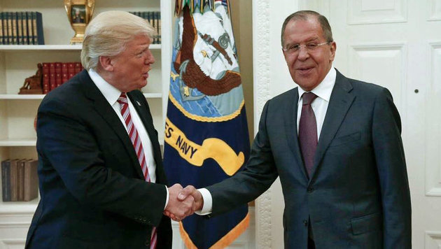 Wie brisant sind die Informationen, die Trump an Lawrow weitergegeben hat? (Bild: Associated Press)