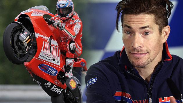 Ex-MotoGP-Champ Hayden mit Fahrrad verunglückt (Bild: AFP)