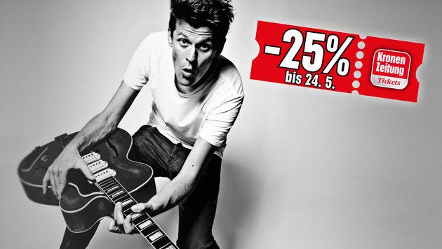 Minus 25 Prozent auf Norbert Schneider (Bild: Stefanos Notopoulos)