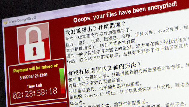 """War """"WannaCry"""" bloß ein Ablenkungsmanöver? (Bild: AP)"""