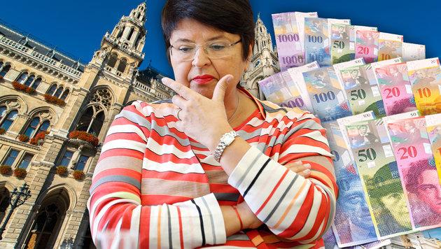 Finanzstadträtin Renate Brauner (SPÖ) ließ in nur 16 Tagen gewaltige Summen in Euro tauschen. (Bild: Reinhard Holl, thinkstockphotos.de)