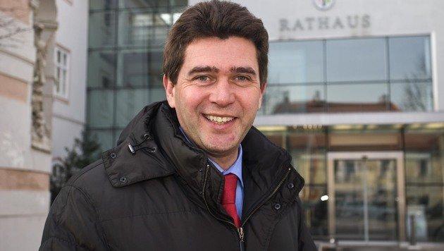 Peter Eisenschenk, Bürgermeister von Tulln (Bild: Guenter Kargl)