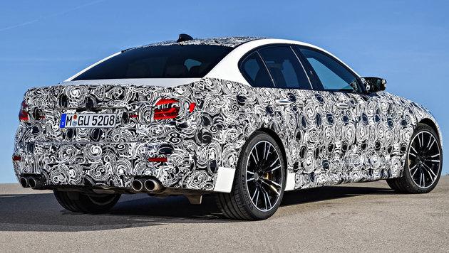 BMW M5: Chefsportler mit Allrad - abschaltbar! (Bild: BMW)