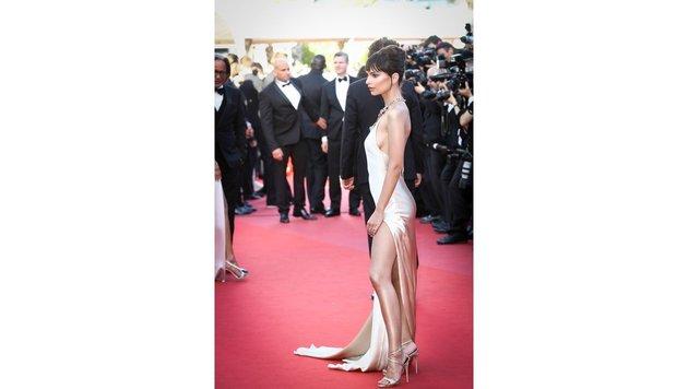 Auch Emily Ratajkowski ließ den Red Carpet erröten. (Bild: Viennareport)