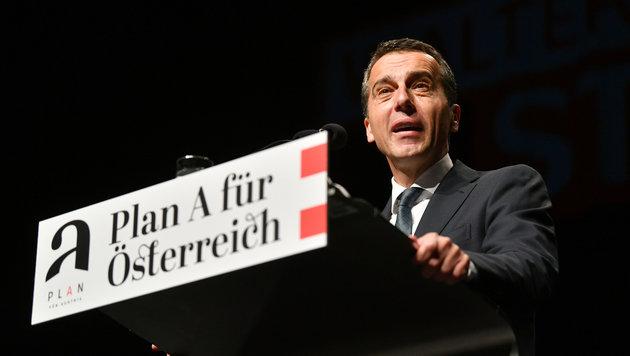 """Kern tritt """"sicher nicht"""" mit eigener Liste an (Bild: APA/BARBARA GINDL)"""