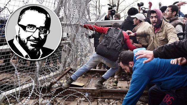 """""""Grenzen auf""""-Fans und Verrücktheiten toleriert (Bild: AFP)"""