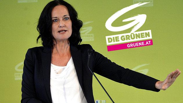 Grünen-Chefin Eva Glawischnig tritt zurück (Bild: APA/HERBERT PFARRHOFER)