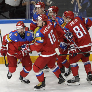 Russland, Kanada, Finnen & Schweden im Halbfinale (Bild: Associated Press)