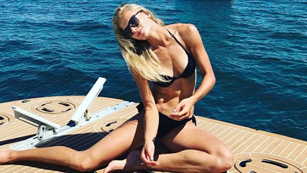 Weitsprung-Beauty Darja Klischina macht Lust auf Sommer! (Bild: instagram.com/)