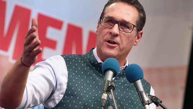 Heinz-Christian Strache (Bild: APA/HANNES DRAXLER)