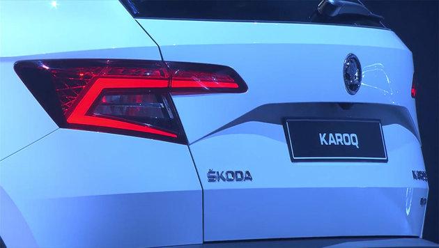 Ganz schön edel & Hightech, der Skoda Karoq! (Bild: Skoda)