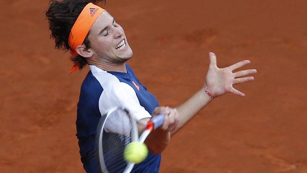 Matchbälle abgewehrt! Thiem holt Tennis-Schlacht! (Bild: AP)
