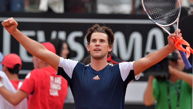 Sensation! Dominic Thiem führt Nadal in Rom vor (Bild: AFP or licensors)