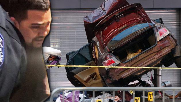 Richard Rojas soll bei seiner Verhaftung einen verwirrten Eindruck gemacht haben. (Bild: AFP)