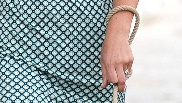 Pippa Middleton mit Verlobungsring (Bild: Matrix Media Group/face to face)