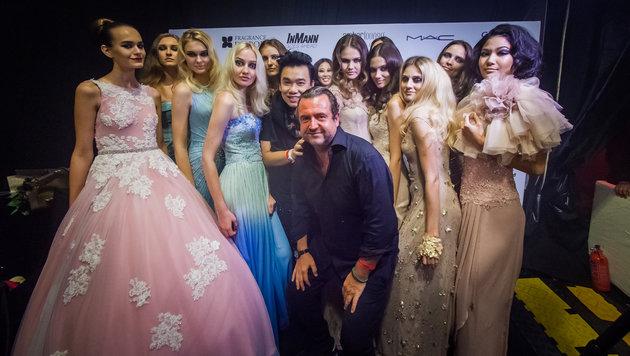 Heuer ist Marco Inmann und Team für die Models der Luxuslabel SAFiYAA in Monte Carlo verantwortlich. (Bild: Amber Lounge)