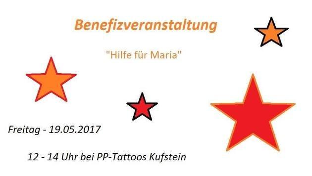 Tätowierer Peter Palfy organisierte eine Benefizveranstaltung für Maria Brandstätter. (Bild: facebook.com)