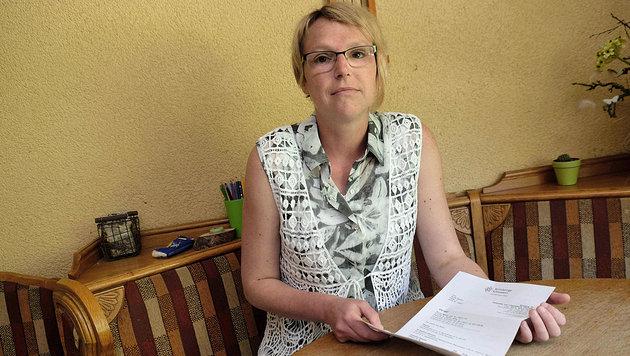 Patientin Nicole B. (Bild: Horst Einöder)