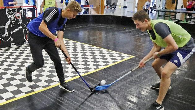 Ein großer Andrang war unter anderem auch auf dem großen Hockey-Feld. (Bild: Christof Birbaumer/Kronenzeitung)