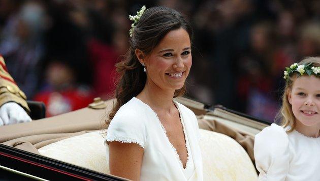 """""""Her Royal Hotness"""" Pippa Middleton sagt Ja. (Bild: AFP)"""